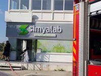 Simya Laboratuvarı'nda yangın çıktı