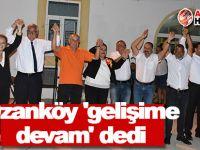 Ozanköy 'gelişime devam' dedi