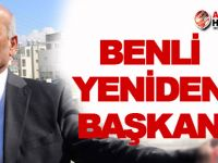 Gönyeli'de Benli yeniden başkan!