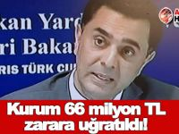 Bakan Nami: Kurum 66 milyon TL zarara uğratıldı!
