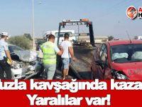 Tuzla kavşağında kaza: Yaralılar var!