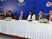 Kabine basın toplantısı düzenledi