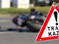 İskele'de motor kazası: Polis memuru ağır yaralı!