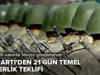 AK Parti'den bedelli askerlik için yeni teklif