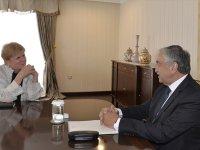 Cumhurbaşkanı Akıncı, Lute ile görüştü