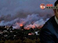 Çipras: Yangınlar şüphe uyandırıyor!