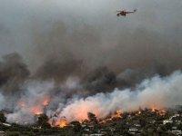 Yunanistan'daki yangında ölü sayısı yükseldi