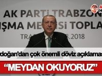 Erdoğan'dan çok önemli döviz açıklaması!