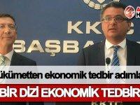 Hükümetten ekonomik tedbir adımları