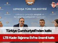 Türkiye Cumhuriyeti'nden LTB Kadın Sığınma Evi'ne önemli katkı