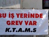 TRAFİK DAİRESİ'NDE GREV DEVAM EDİYOR
