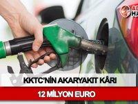 KKTC'nin akaryakıt kârı 12 milyon Euro