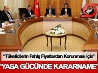 Bakanlar Kurulu 'Yasa Gücünde Kararname' çıkardı