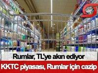 Kıbrıslı Rumlar, Kuzey Kıbrıs'ta TL'ye akın ediyor