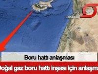 Güney Kıbrıs ile Mısır arasında boru hattı anlaşması