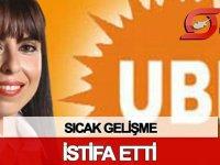 UBP'de şok istifa