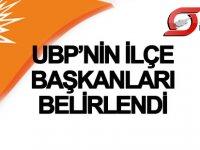 UBP'de ilçe başkanları belirlendi