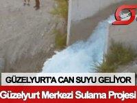 Bakan Şahali: Güzelyurt'a can suyu geliyor