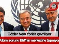 Kıbrıs sorunu, bir kez daha BM'nin merkezine taşınıyor