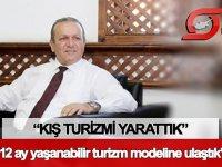 """Bakan Ataoğlu: """"12 ay yaşanabilir bir turizm modeline ulaştık"""""""