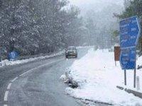 Trodos'a kar yağışı bekleniyor