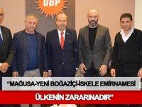 Müteahhitler Birliği, emirnameye karşı eylem yapma kararı aldı