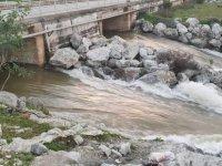 Güzelyurt Barajı ile Gayretköy Barajı taştı