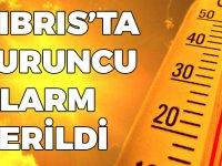 Güney Kıbrıs'ta turuncu alarm