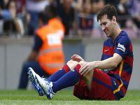 Barcelona lı Lionel Messi Sakatlık Geçirdi, Arda Turan Yerine Geçecek