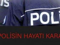 Bir polisin hayatı karardı!