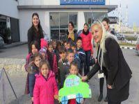 Anaokul çocukları Özok'u gezdi