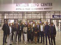 Kıbrıs İlim Üniversitesi Hestorex World Health Sport Tourism Congress & Exhibition fuarına katıldı