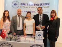 Kıbrıs İlim Üniversitesi İKAD Sergisi'nde Stand açtı