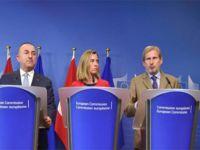 Türkiye-AB toplantısına Kıbrıs sorunu damgasını vurdu