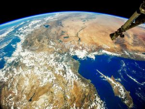İşte uzaydan Kıbrıs ve Türkiye