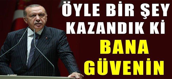 Başkan Erdoğan, Arka Planda Kazanılan Gizli Şeyin müjdesini verdi