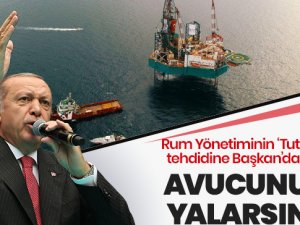 Erdoğan: Fransa ve Güney Kıbrıs'a uçaklarımızı göndeririz!